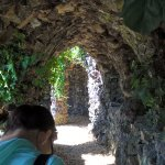 Grotto in the gardens