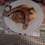 Giant bratwursh