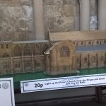 Model of the priory church