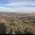 Pano from the top looking toward Denver on a smoggy day