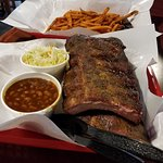 Ribs with 2 sides