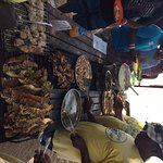 Amazing seafood lunch on Safari Blue Tour (booked via the hotel)