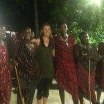 "The Massai ""warriors"""