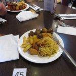 My Smallish Plate of Food