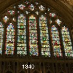 The Jesse Window, dating back to 1340.