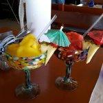 Mango  and Strawberry Margaritas