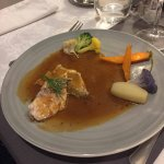 filet de dorade sauce langoustine