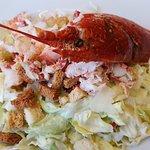 La salade César au homard