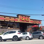 Local pizza cuisine located on side street in PoCo