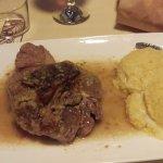 Ossobuco, Milanese classic with polenta.