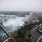 Horse shoe falls from the Skylon Tower