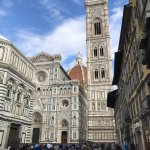 about a 20 minute walk to the amazing Duomo of Firenze!