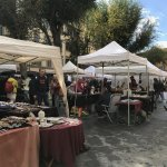 Wonderful local market on Sunday at Piazza Santo Spirito, just around the corner.