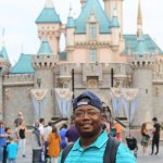 At the Magic Kingdom in Disney Land