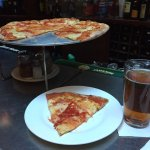 cheese pie and beer