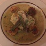 Half portion of scallops-delicious!