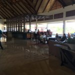 Lounge and bar in the main building, this is on the second floor, there is an elevator in this a