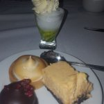 The desserts selection....yummy