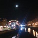 Luna llena en el Mercado de la Ribera