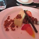 Okanagan Chevre Cheesecake - one of the many delicious desserts