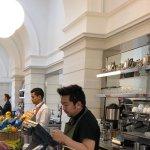 Cafe servery