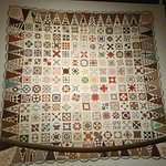 Historic quilt in the collection of the Bennington History Museum.