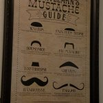 Which mustache to have when eating a pizza?