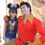 Gaston .... he LOVES himself lol!
