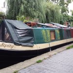 Another interesting canal boat home