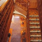 Marsh-Billings Rockefeller Museum main stairway