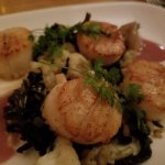 Scallops were perfect!
