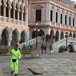 Cleaning up the square
