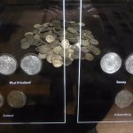 Coins recovered from shipwrecks