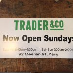 Trader & Co address and opening times