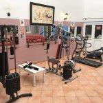 Das sind schon fast alle Geräte der Gym.