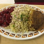Combo: Sweet & Sour, Chicken Chow Mein, Egg Foo Young
