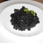 squid ink rice