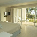 Luxurious comfortable rooms.