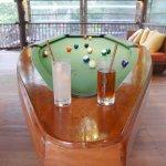Bar et billard