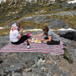 Untouched Back Country tour Picnic lunch Lake Quill