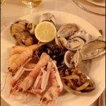 Shell-fish appetizer