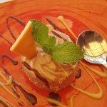Peppermint crisp cheesecake. Yum!