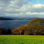 Queen Adelaides Hill overlooking Lake Windermere near Miller ground