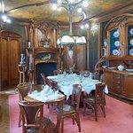 La salle à manger de la famille Addams