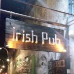 The Irish Pub entrance