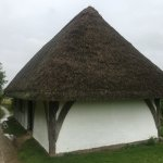 orginally crafted thatched buildings