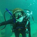 Под водой :-)