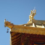 Detail of golden roof
