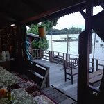 Deck Overlooking the Mekong River