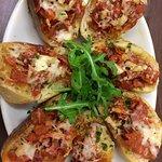Garlic and Chorizo Nibble Plate